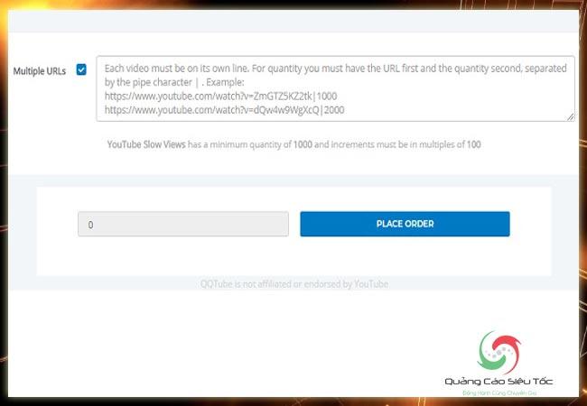Mua view tại QQTube như thế nào để không bị xóa video