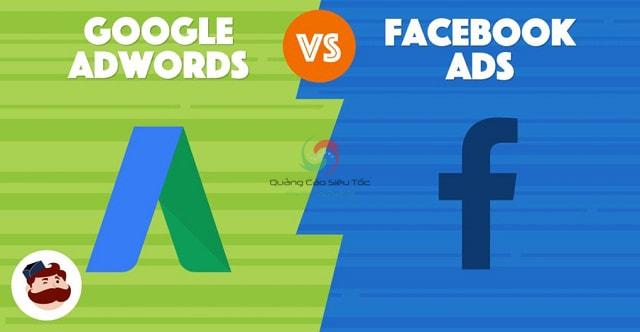 Nên chạy quảng cáo trên Facebook hay Google Adwords