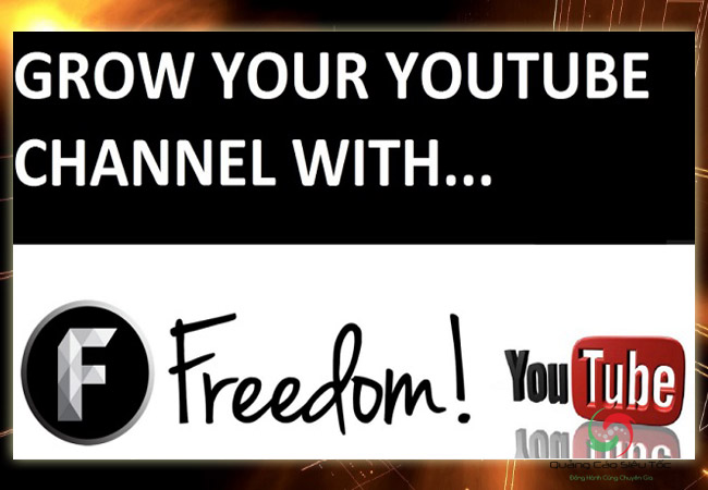 Đăng kí network youtube Freedom