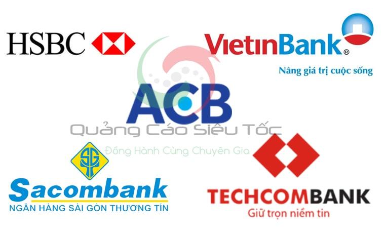 Danh sách những ngân hàng được đề xuất mở thẻ