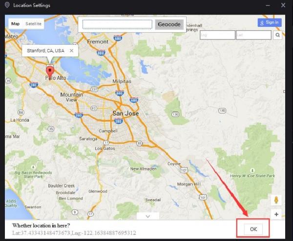 Nox App Player - cách định vị vị trí trên bản đồ