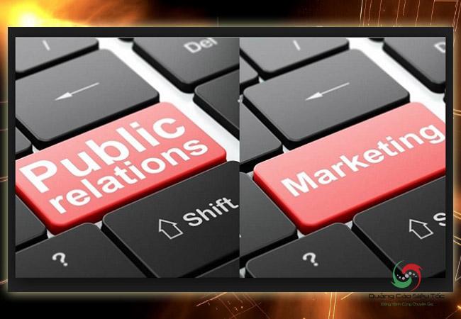 Phân biệt Pr và marketing bằng ví dụ đơn giản
