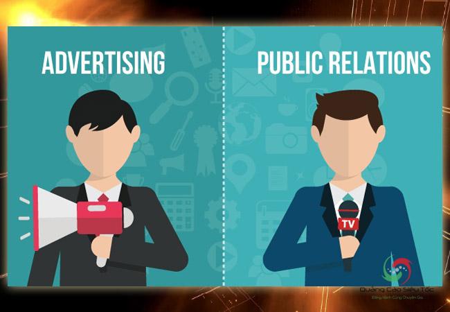 Phân biệt giữa Pr và quảng cáo dựa vào những yếu tố cơ bản