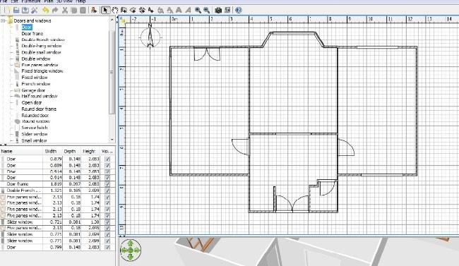 Phần mềm thiết kế nhà Sweet Home 3D hoàn toàn miễn phí