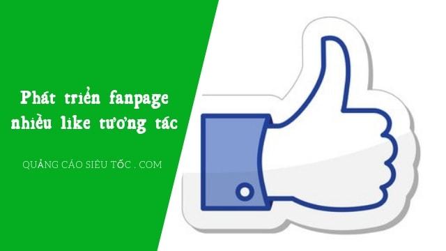 phát triển fanpage