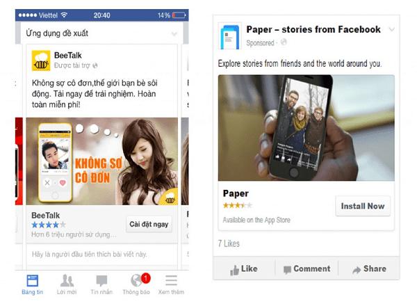 Một Số Phương Thức Quảng Cáo Mà Facebook Đang Cung Cấp
