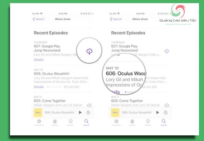 podcast là gì? cách download nội dung về thiết bị