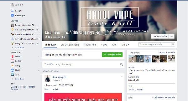 Quảng Cáo Bán Hàng Trong Group Facebook