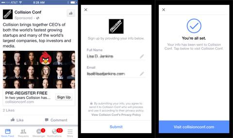 quang cao facebook lead ads