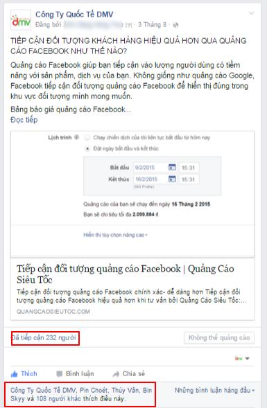 quang cao facebook mien phi