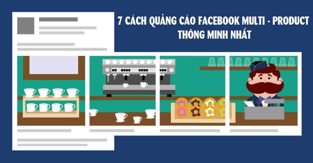 quang cao facebook multi - product