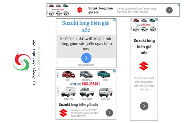 Banner google display miễn phí