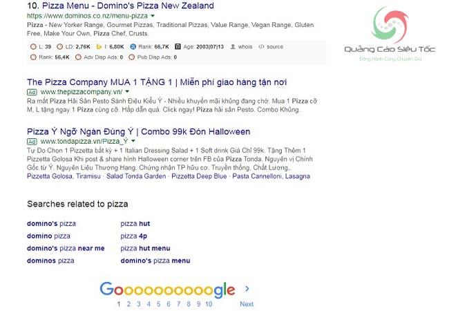 Quảng cáo Google giúp bạn vượt lên những thương hiệu lớn