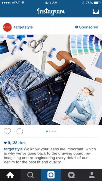 xu huong quang cao instagram