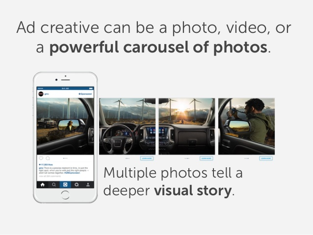 Quảng cáo Instagram Multi - Products Ads