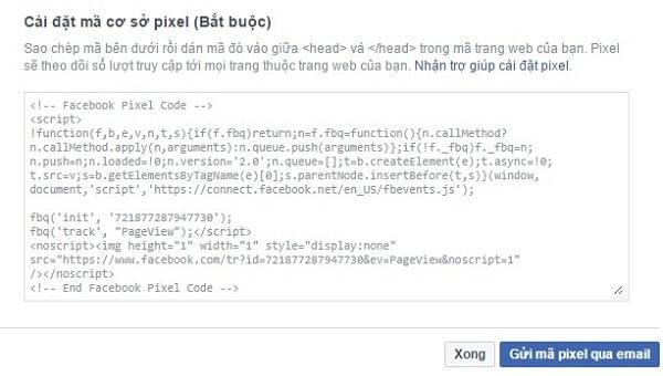 PIXEL Facebook Là Gì? Cách Lấy Và Cài Đặt Mã PIXEL Facebook