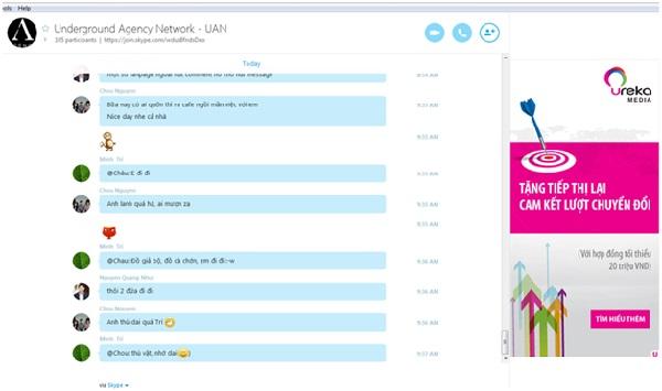 Tìm Hiểu Về Dịch Vụ Quảng Cáo Skype Tại Việt Nam