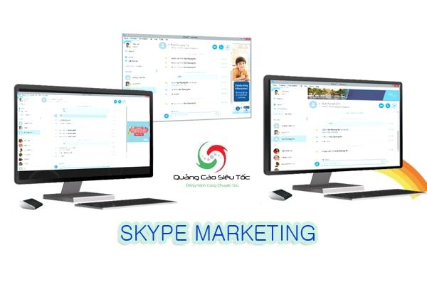 quang cao tren skype