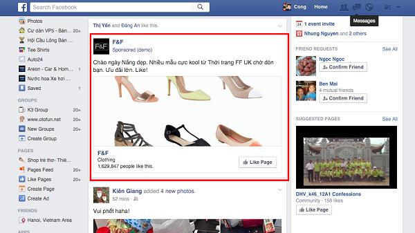 Quảng Lý Fanpage Facebook Hiệu Quả Hơn