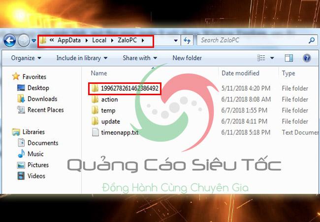 Sao lưu khôi phục tin nhắn zalo trên máy tính