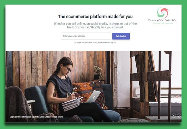 shopify là gì? Cách đăng kí cửa hàng với Shopify