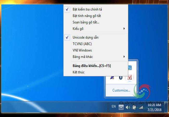 Skype không gõ được tiếng Việt cần kiểm tra phần nào?