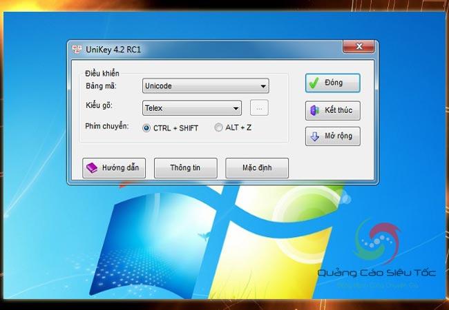 Skype không gõ được tiếng Việt cần cài đặt Unikey như thế nào?