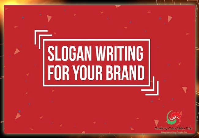 Slogan hay- Làm sao để viết đúng?