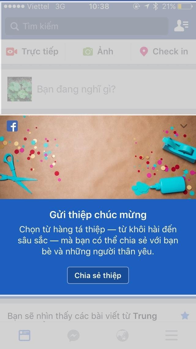 Hướng Dẫn Tạo Thiệp Chúc Mừng Năm Mới Trên Facebook