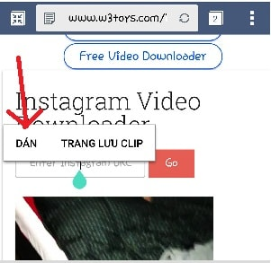 cách tải hình từ instagram