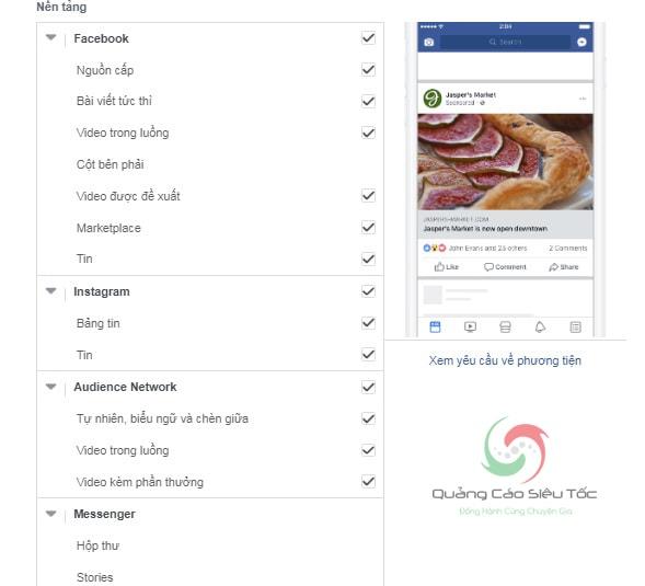 tạo video quảng cáo facebook