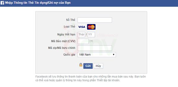 Tạo tài khoản quảng cáo Facebook 5