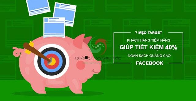 Target khách hàng trên Facebook