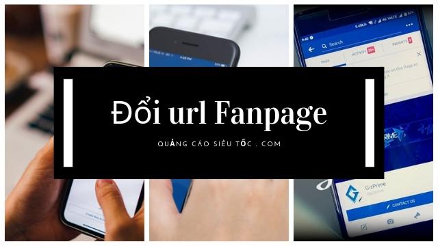 thay đổi đường link url cho fanpage facebook