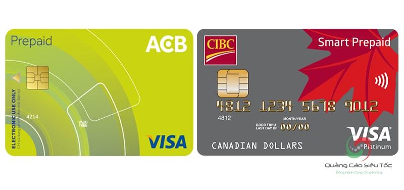 Thẻ Visa trả trước Prepaid card