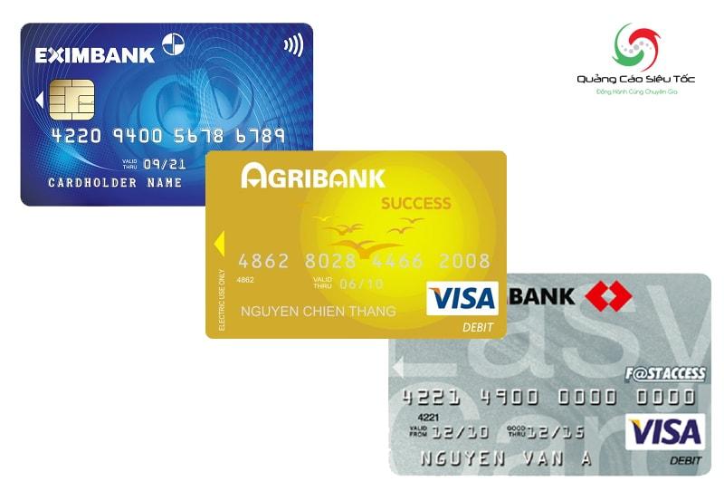 Thẻ Visa ghi nợ Debit card