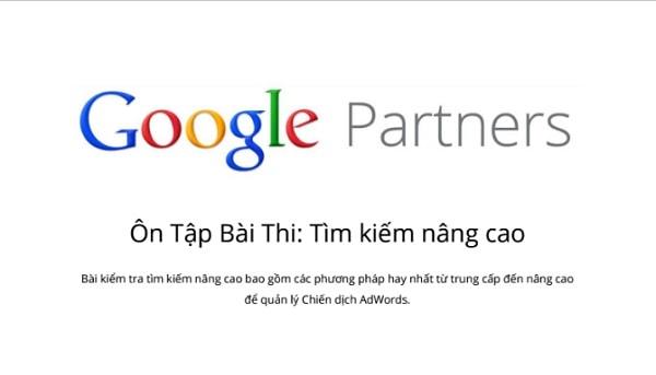 Thi Chứng Chỉ Google Adwords