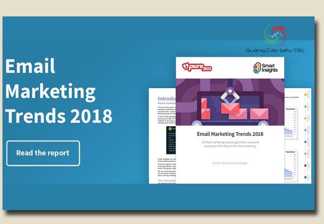 thiết kế email marketing theo xu hướng mới