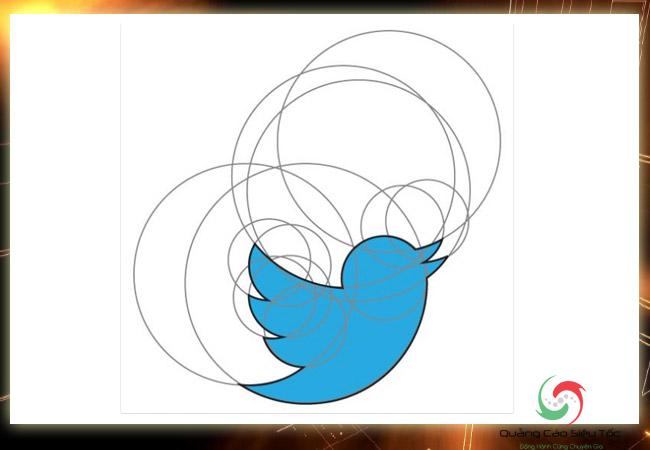 Thiết kế logo với tỉ lệ đối xứng