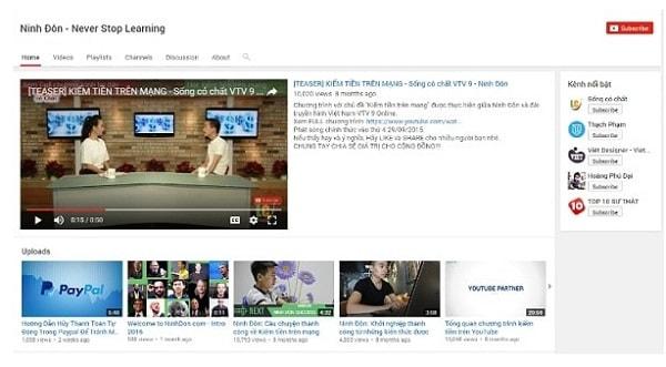 Cách Thay Đổi Bố Cục Kênh Youtube Đơn Giản, Chuyên Nghiệp