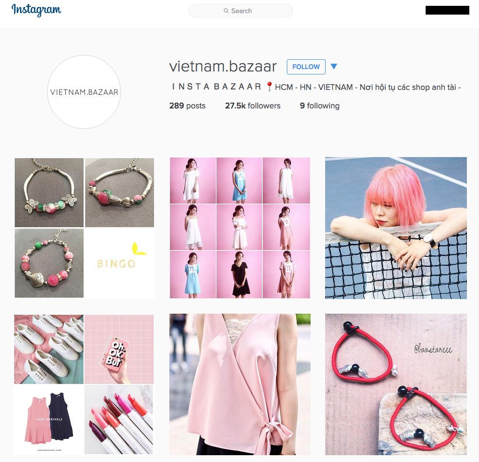 tham gia cong dong ban hang online tren instagram