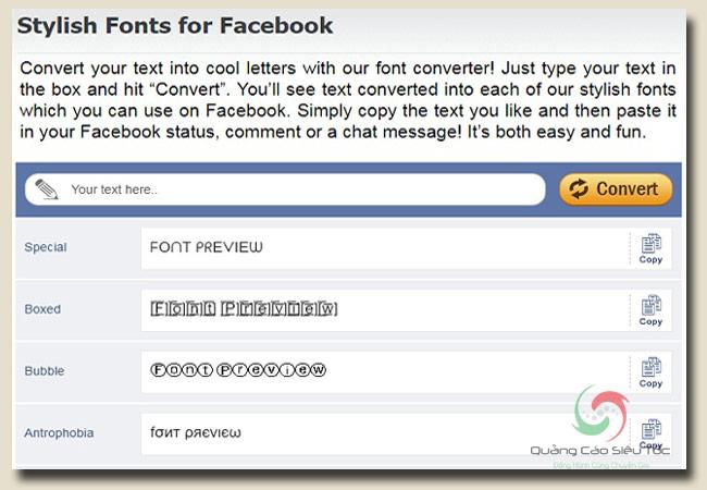 thủ thuật facebook khi đăng status