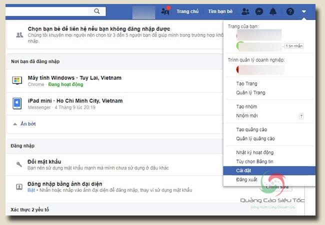 thủ thuật facebook đề phòng kẻ xâm nhập trái phép