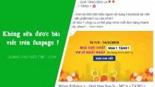 Hướng dẫn cách chỉnh sửa bài viết đang quảng cáo trên fanpage