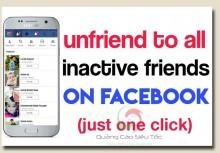Cách Lọc Bạn Bè Không Tương Tác Trên Tài Khoản Cá Nhân Facebook