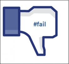 Bài học quảng cáo Facebook thất bại ít ai biết
