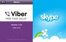 So sánh Viber với Skype (tt)