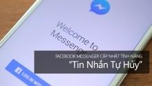 Tính Năng Hủy Tin Nhắn Gửi Đi Trên Facebook