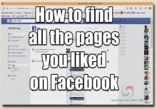 Hướng Dẫn Xem Các Trang Đã Like Trên Facebook Dễ Dàng Nhất