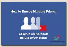 Cách xóa bạn bè hàng loạt trên facebook và ưu khuyết điểm cần biết